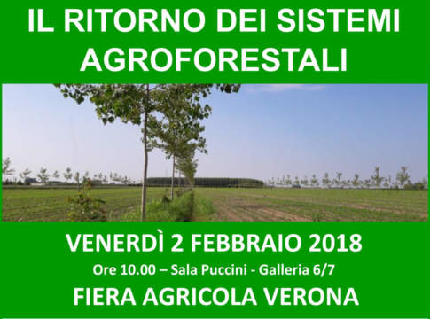 sistemi agroforestali fiera agricola verona