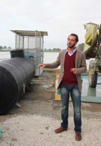 Sistema integrato di lavaggio botti per evitare l^inquinamento puntiforme.