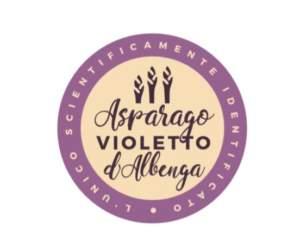 logo asparago violetto