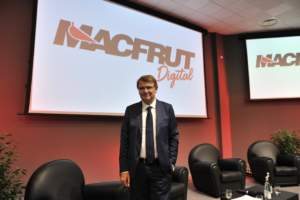 Renzo Piraccini, presidente di Macfrut