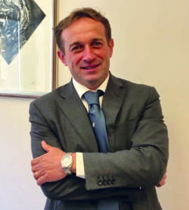 Davide Vernocchi, presidente di Apo Conerpo