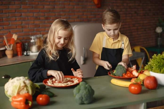 verdura bambini