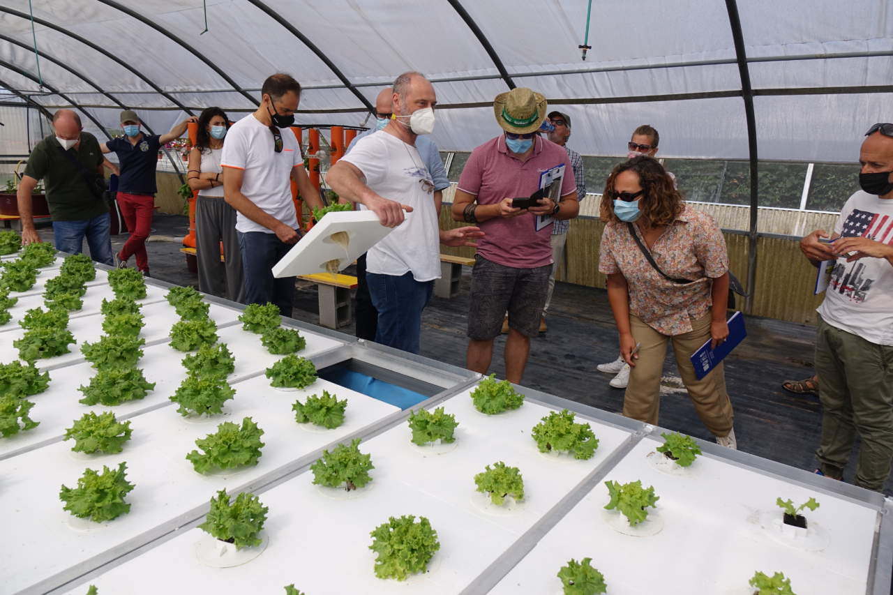 air floating irrigazione sostenibile
